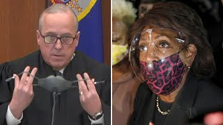 video: Derek Chauvin trial judge says 'abhorrent' comments by US congresswoman Maxine Waters could jeopardise verdict