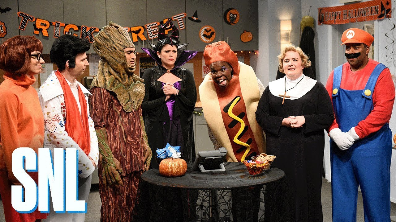 Office Halloween Party Snl