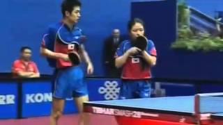 Joo Se Hyuk/Park Mi Young vs Lei Zhen Hua/Ding Ning (WTTC 2007)