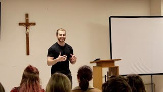 Zach Gonring - The Meaning of the Eucharist   Encounter Retreat 2019