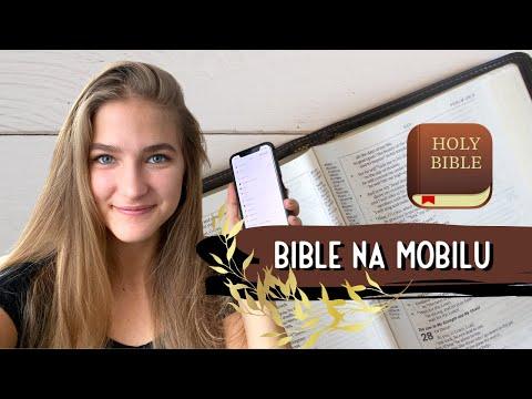 Jak čtu Bibli na mobilu
