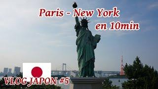 La tour eiffel et la Statue de la liberté au Japon ! (Vlog japon #5)