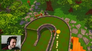 BEST GOLF MAP YET!!!   Golf It With Friends #5 (Golf Funny Moments)