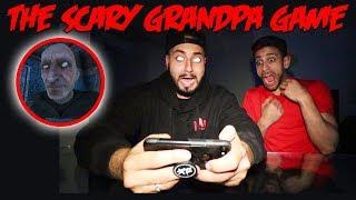 THE SCARY GRANDPA GAME! DONT PLAY THE GRANDPA GAME AT 3 AM | MOE SARGI