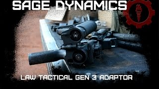 Law Tactical Gen 3 Folding Adaptor