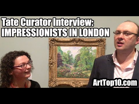 INTERVIEW: Tate Britain Curator Lizzie Jacklin discusses Impressionists in London with Robert Dunt