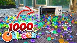 1000 Wasserperlen VS. Mikrowelle ! Orbeez Toy Fun !