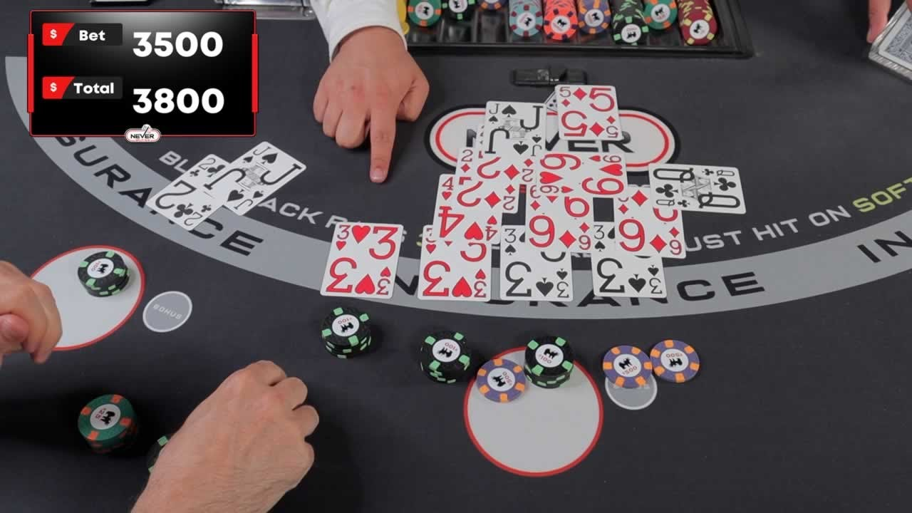 $15,600 Blackjack Win - Part 1 of ? - Check Out That Split #106