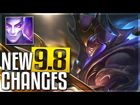 TEEMO REWORK ZED NERFED & MORE - New Patch 98 Changes Early Look  LoL