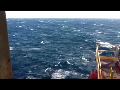 Windy day in Bass Strait 4/12/2012