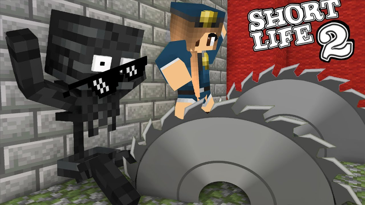 Monster School : SHORT LIFE & SAVE THE GIRL CHALLENGE Minecraft Animation