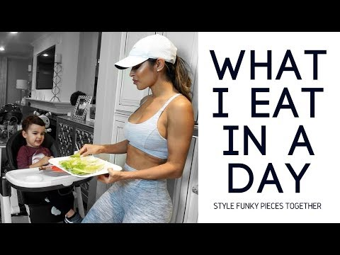 A DAY IN THE LIFE OF A SINGLE MOM  What I Eat in A Day!
