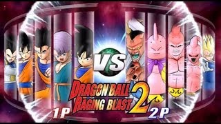Dragon Ball Z Raging Blast 2 - Saiyans VS. Majins (Battle Of God News!!)