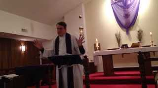 Sermon February 22 on Temptation - the Rev. Scot McComas
