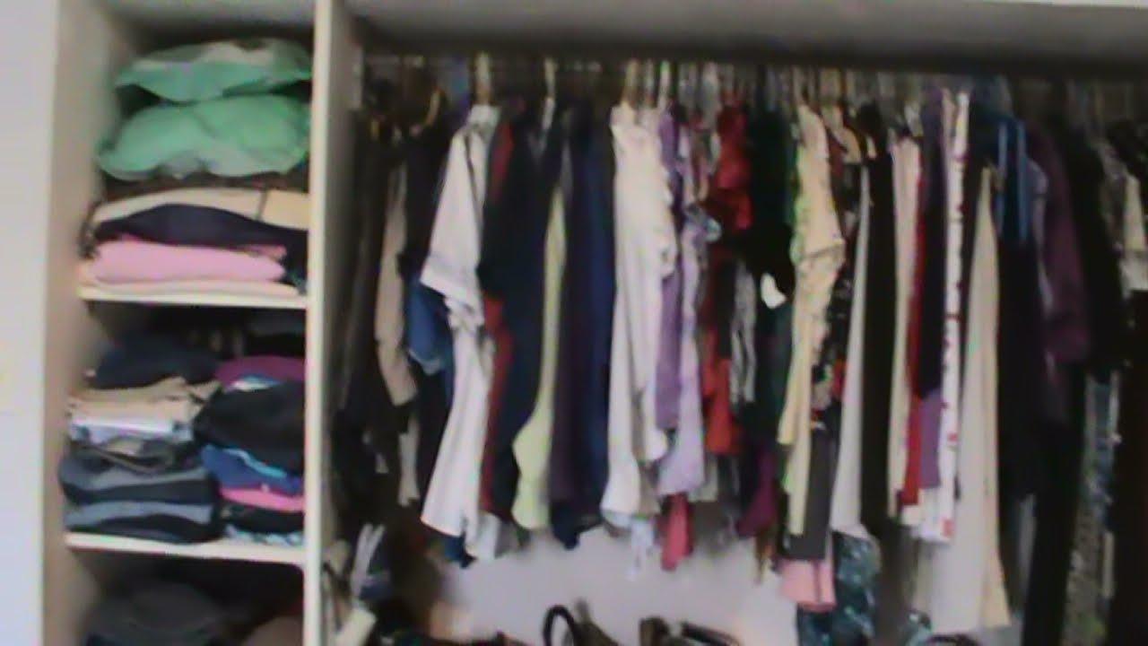 Cmo organizar un pequeo closet en 5 pasos  YouTube