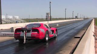 8.61 @ 167 mph - Russian Viper Comp Coupe Twin Turbo