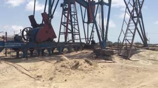 Азербайджан Апшеронский полуостров Нефтяные вышки(, 2016-06-17T10:20:32.000Z)