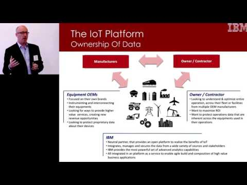 "The ""Internet of Things"" & advanced analytics for the mining"