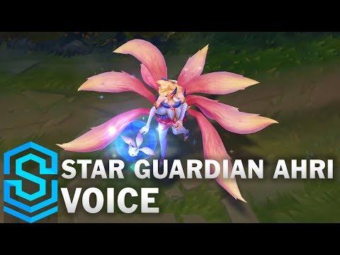 Voice - Star Guardian Ahri, Legendary Skin - English