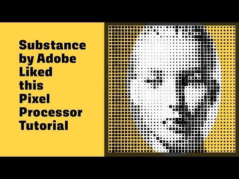 Allegorithmic Substance Designer 6 Pixel Processor Halftone Effect