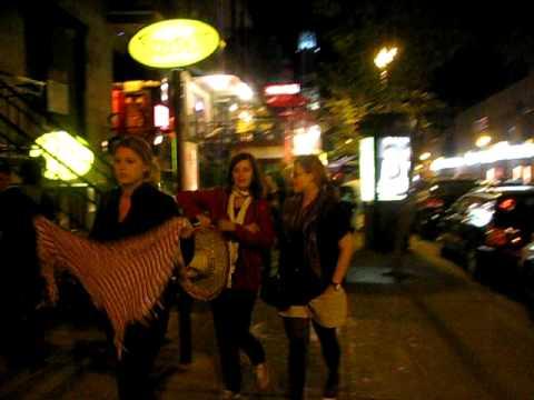 Walk Along Quartier Latin  Montreal