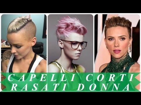 Ultimi Taglio Capelli Corti Rasati Ai Lati 2018 Youtube
