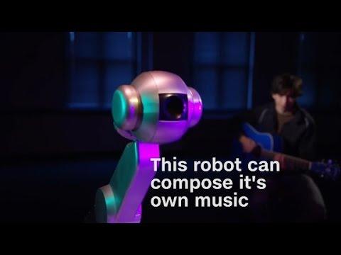 This robot just composed original music