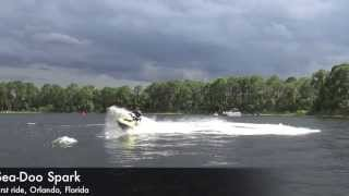 2014 Sea-Doo Spark first ride
