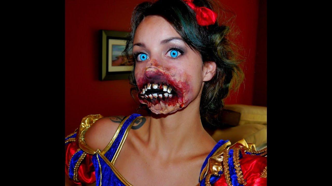 Halloween 2014 Series : Dead Disney, Zombie Snow White - YouTube