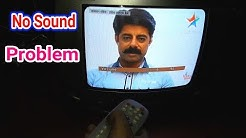 No Sound Problem  But TV Picture Ok Panorama TV Fault Repair.