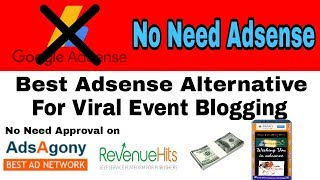 Best Adsense Alternative For Whatsapp Wishing Website | Viral Script For Blogger