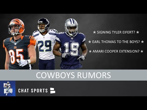Cowboys Rumors: Signing Tyler Eifert, Amari Cooper Extension, Ty Montgomery & Earl Thomas To Dallas