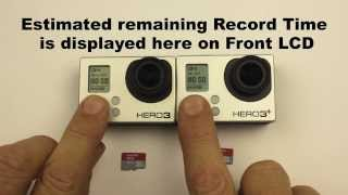How long can I record for with a 32GB Micro SD card? GoPro HERO3 / HERO3+ Black Edition (Protune ON)