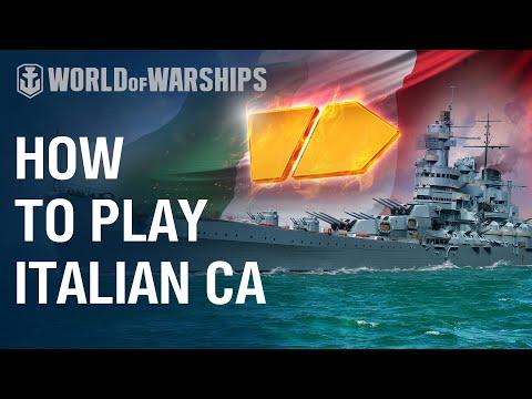 Italian Cruisers: How To | World Of Warships