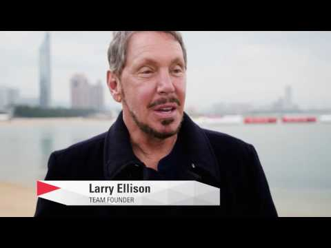 Larry Ellison On Practice Racing for the America's Cup World Series Fukuoka