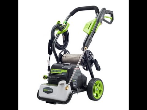 hqdefault greenworks 2000 psi electric pressure washer review youtube  at reclaimingppi.co