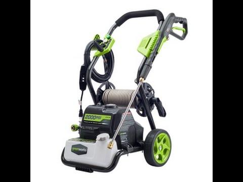 Greenworks 2000 Psi Electric Pressure