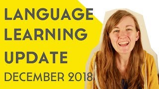 Language Learning Goals #ClearTheList December 2018║Lindsay Does Languages Video