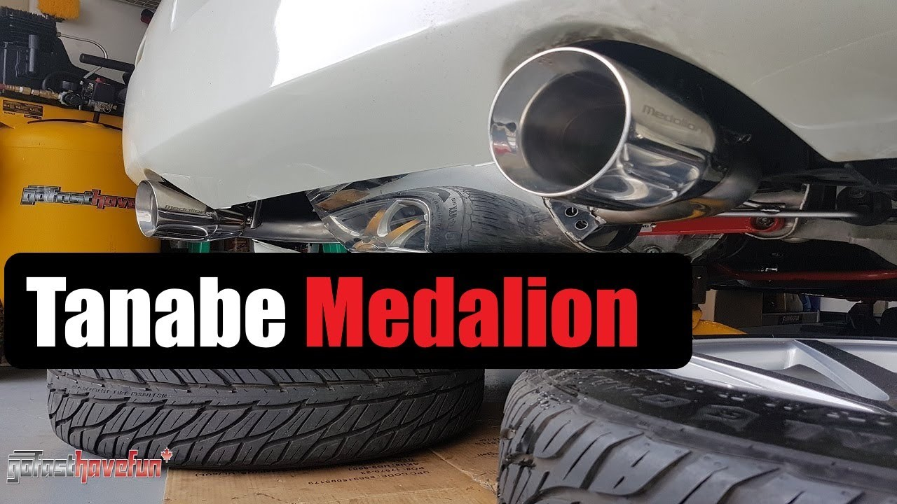 Nissan 350Z Tanabe Medalion Touring Exhaust Sound | AnthonyJ350