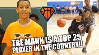 Tre Mann Went from UNRANKED to TOP 25 in the Country!! | Smoothest Jumper in the Country?!