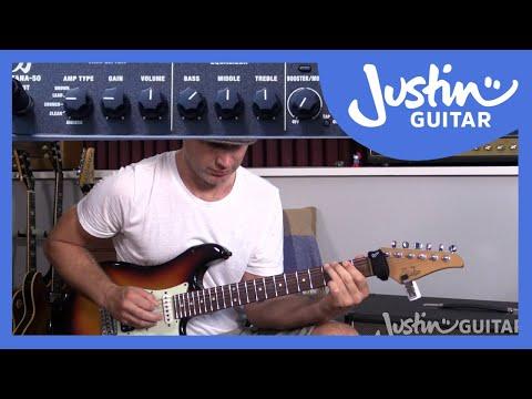 Boss Katana 50 Unboxing & Exploring - Guitar Lesson, Amp Review, Tutorial JustinGuitar