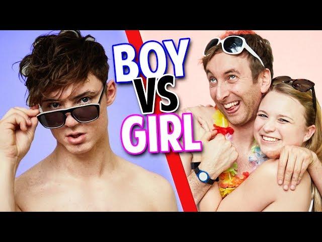 BOY vs. GIRL - im Urlaub 😏💦