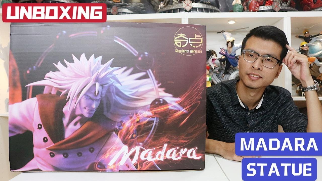 UNBOXING MADARA UCHIHA SIX PATHS From Naruto By SW and LAUNCHING MY BRAND NEW WEBSITE!!!
