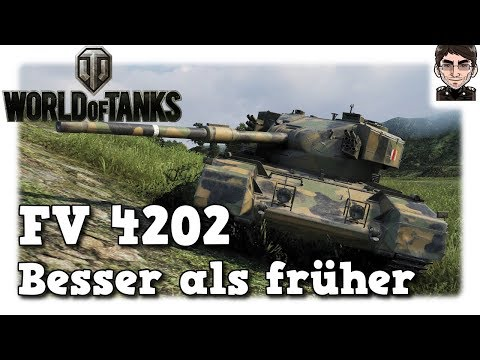World of Tanks - FV 4202, Tier 8 Premium, besser als früher [deutsch | gameplay]