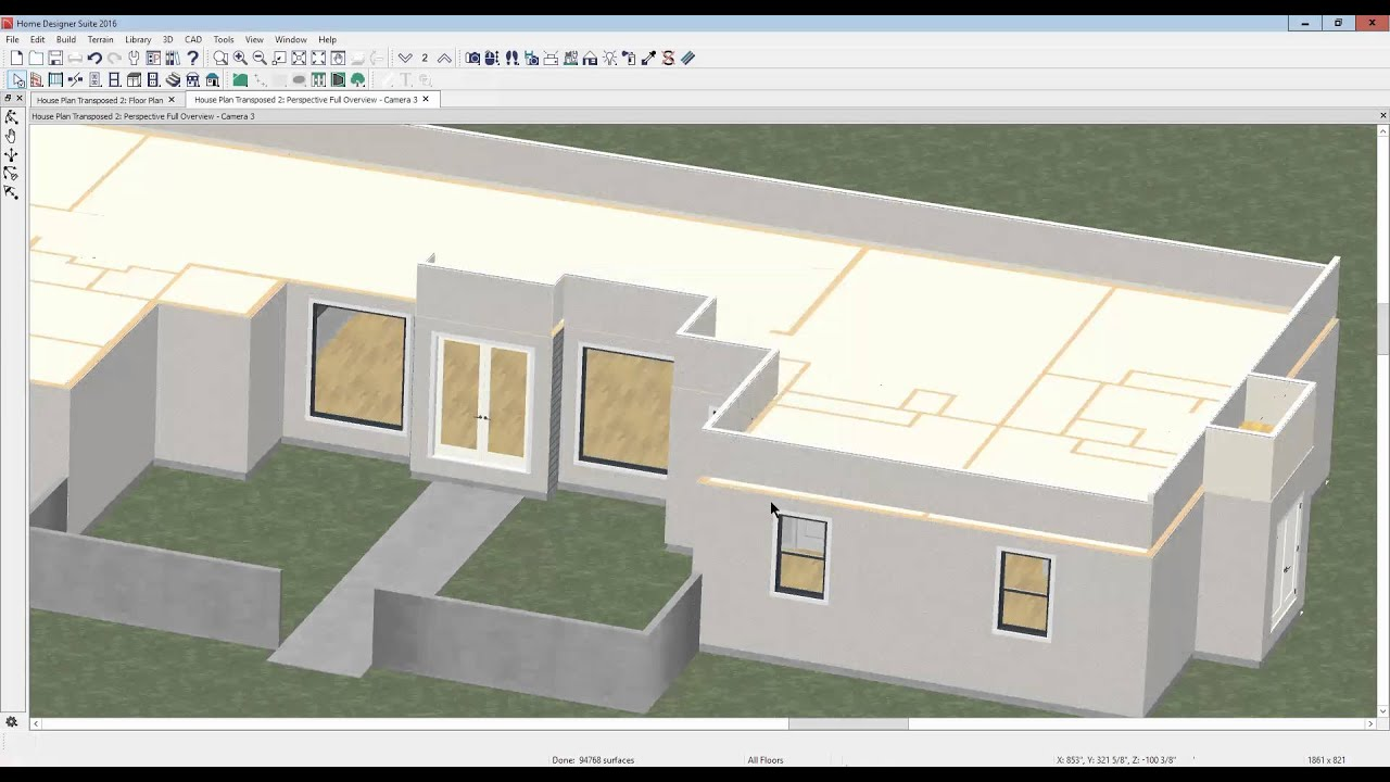 Flat roof with parapet in Suite 2016 YouTube