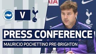 PRESS CONFERENCE | MAURICIO POCHETTINO PRE-BRIGHTON