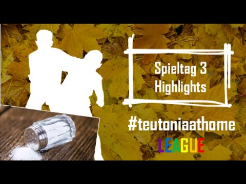 LEAGUE Spieltag 3 Highlights #teutoniaathome