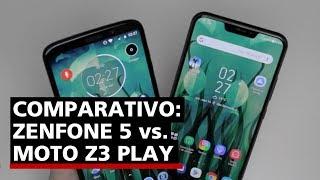 Zenfone 5 x Moto Z3 Play: qual deles você leva? - Comparativo (Português)