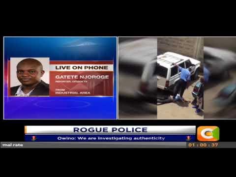 Police officer captured on camera assaulting suspect.