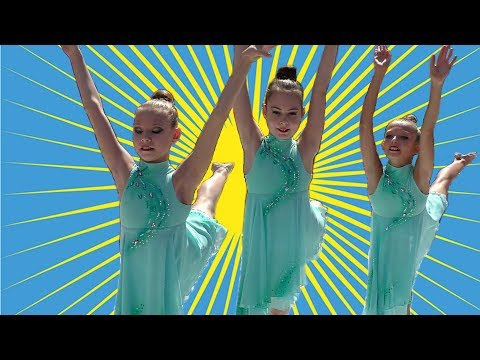 Dance / Выступают юные гимнастки / День города Новокузнецка 2019